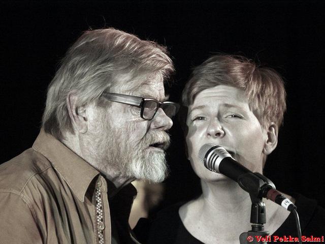 Eero ja Nasu Raittinen tunturiblues 2005 (kuva Veli Pekka Salmi)
